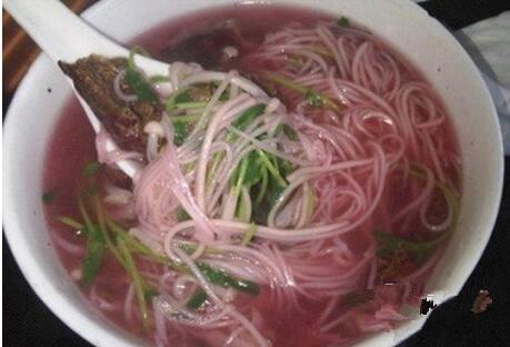 德化美食:红菇米粉汤
