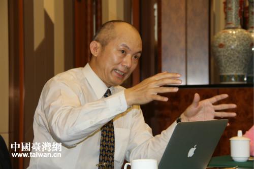 臺灣產學研策進會福建站副主任江雪秋博士