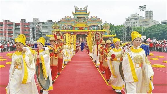 湄洲妈祖祭典昨在新北精彩上演