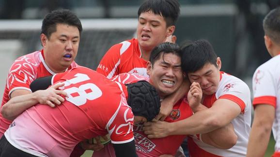 第三屆海峽兩岸青年英式橄欖球交流賽落幕