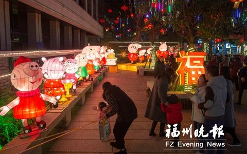 福州元宵燈會明晚正式亮燈 鼓樓區燈會將持續至24日