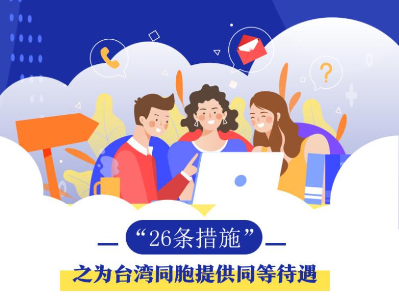 """一图读懂""""26条措施""""之台湾同胞"""